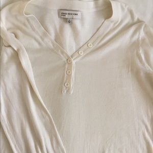 XL Jones New York sport, Off-White thin sweater